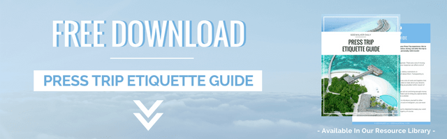 Free Download Press Trip Etiquette Guide